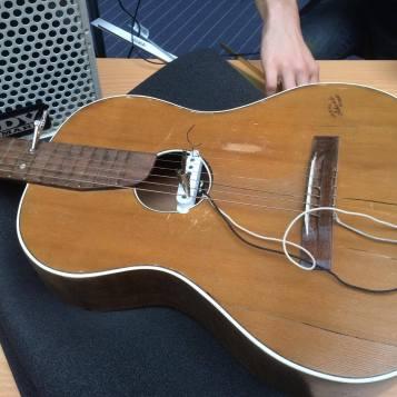 Arian's guitar